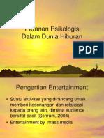 Peranan Psikologi Komunikasi dalam Entertainment