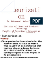 Pasteurization i