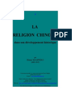 H.Maspero_La religion chinoise.rtf