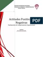 2. Ensayo Actitudes Positivas y Negativas
