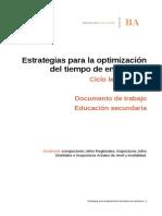 Documento de Trabajo. Educación Secundaria (1)
