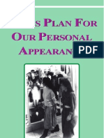 God's Plan For Our Personal Appearance