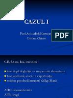 Cancer Esofagian Studiu de Caz