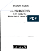 SOREL-El Marxismo de Marx [Antologia en Castellano]