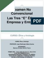 Examen Etica Las Tres e