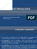 Tarifas Electricas Chile