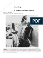 American Anthropologist Tribute Jean Rouch