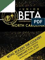 beta convention handbook 2015