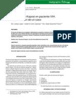 Sarcoma Kaposi - Caso Clinico