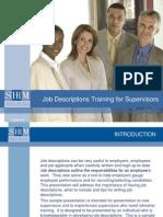 08 PPT Job Descriptions FINAL