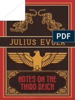 Julius Evola - Notes on The Third Reich