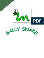 Sally Snake Can Make a Circle