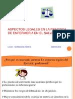 Aspectos legales 2014