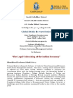 Invitation for Public Lecture on 15 December 2009 by Professor Bibek[1]