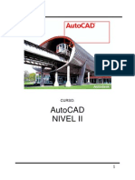 Manual de AutoCAD Nivel II