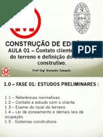 2. AULA 01 - C E 01 Contato cliente, escolha terreno e definiçao sist constr