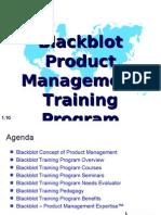 Blackblot Product Management Training Program