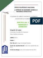 Práctica No 3 Inmersion y Aspersion