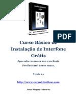 Curso Básico de Instalação de Interfone-Gratis Atualizado Em 20 Mai 2014