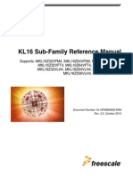 Kinetis KL16 Reference Manual