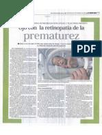 Ojo Con La Retiopatía en La Prematurez