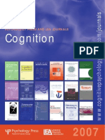 Cognition Journals