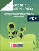 Mimp Analisis Desde El Enfoque de Genero Doc 01 2012