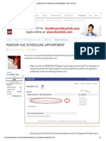 Pearson Vue Scheduling Appointment _ Pef Community