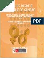 Mimp Analisis Desde El Enfoque de Genero Doc 02 2012