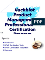 Blackblot Product Management Professional™