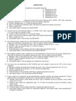 EXERCÍCIOS MATEMATICA Exponencial Logaritmo2