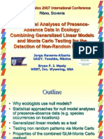Null Model Analyses of Presence-Absence Data