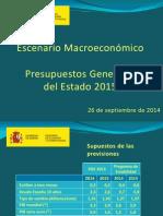 Escenario Macro Pge2015