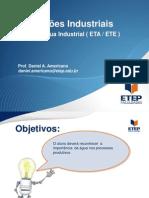 Instalações Industriais - Seção 2 - Agua Industrial ETA ETE