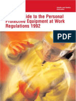 Short Guide to PPE at Work Regulation 1992-InDG174