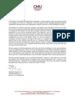 samantha kautz letter of recommendation
