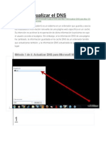 Cómo Actualizar El DNS Por Terminal