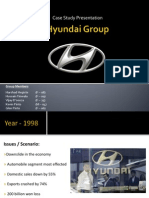 Case Study - Hyundai Group