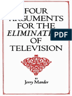 Four Arguments for the Elimination of TV