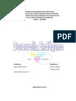 DESARROLLO ENDOGENO