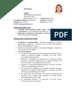 Currículum Vitae Centros de Educación Especial