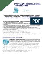 Curso Certificacao Internacional Em Coaching -Reinamento - Curso