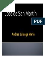 Unidad 3 San Martín - Andrea Zuluaga Marín