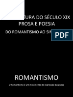 Literatura Brasileira Do Séc. XIX