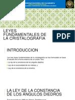 4.- Leyes Fundamentales de La Cristalografia