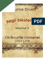 Maurice Druon - Regii Blestemati Vol.3 - Otravurile Coroanei [v. BlankCd]