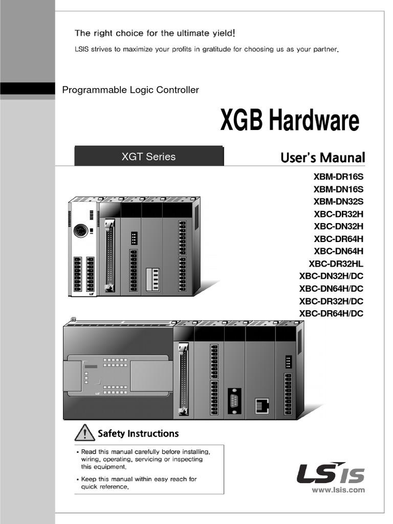 XGB+Hardware+English+ManualV1 7 | Programmable Logic
