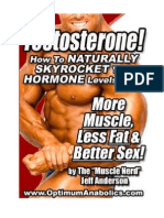 Increase Testosterone A Natural Way