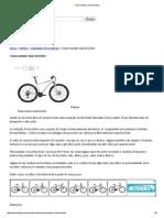 Como Montar Uma Bicicleta