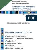 Literatura Comparada en Venezuela